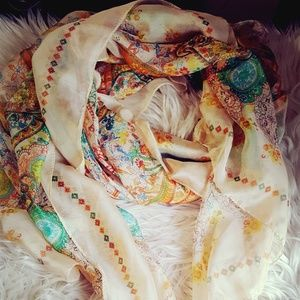Silk like scarf